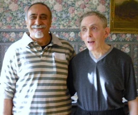 Hamid and John